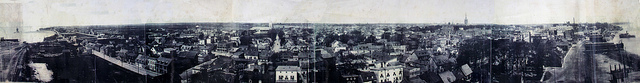 Panorama Trois-Rivières c1924 (Saint-Philippe en très gros plan)