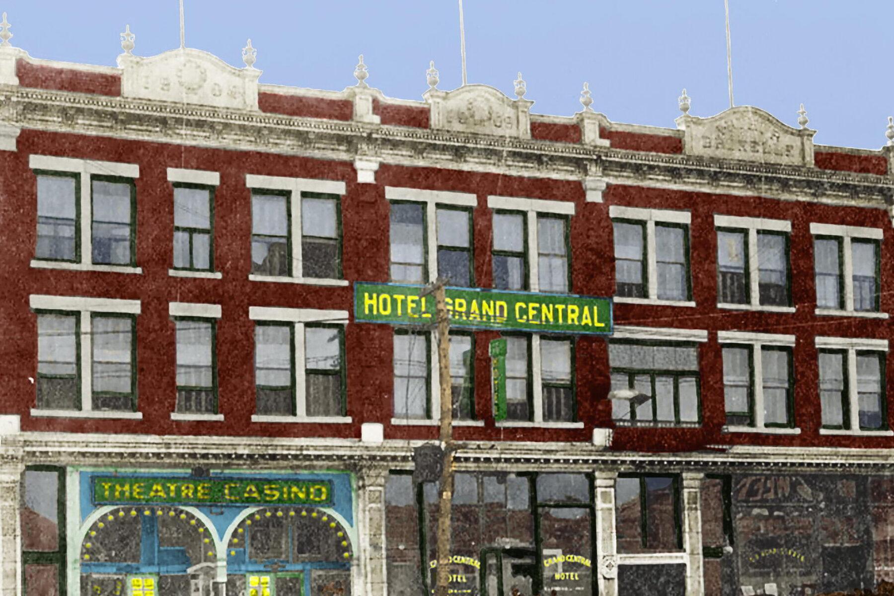 Hôtel Grand Central (Une colorisation)