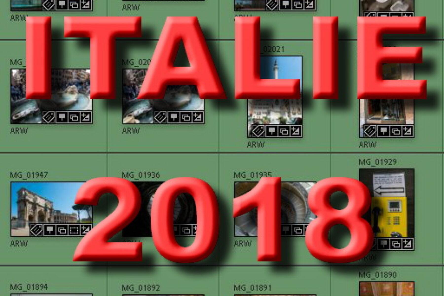 Mon séjour en Italie de 2018
