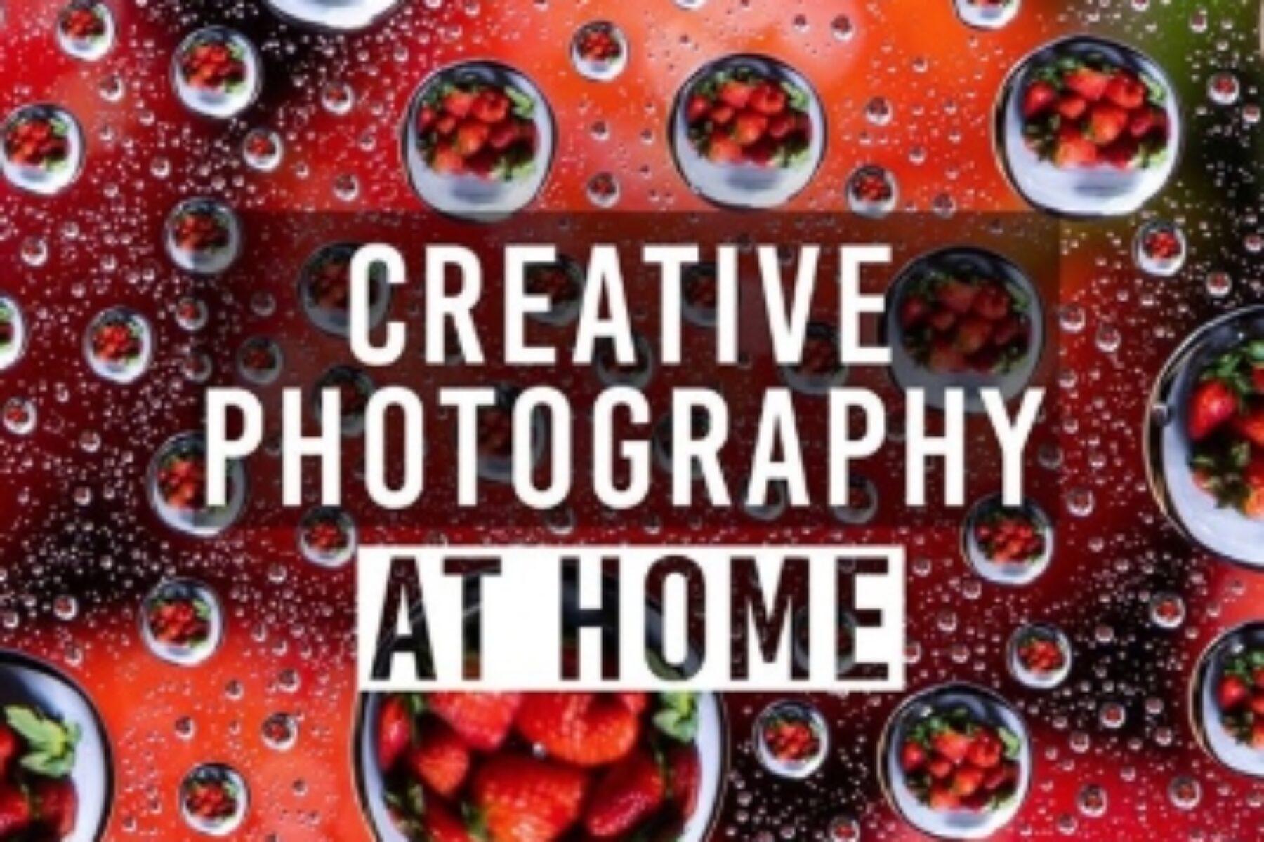 Photo créative à la maison!
