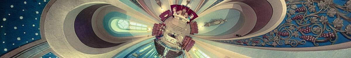 La planète de l'Église de Sainte-Geneviève de Batiscan