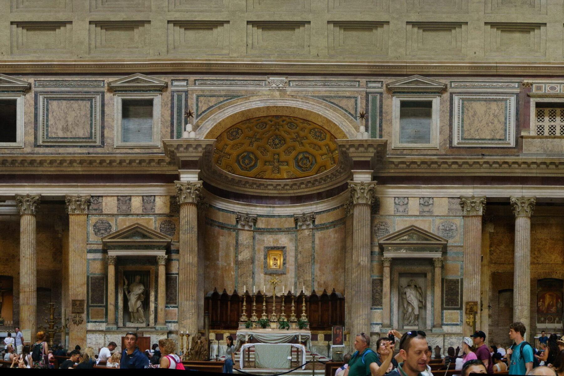 Panorama réalité virtuelle – Panthéon de Rome