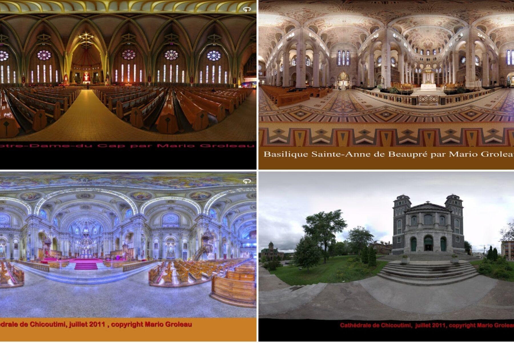 Des églises en réalités virtuelles