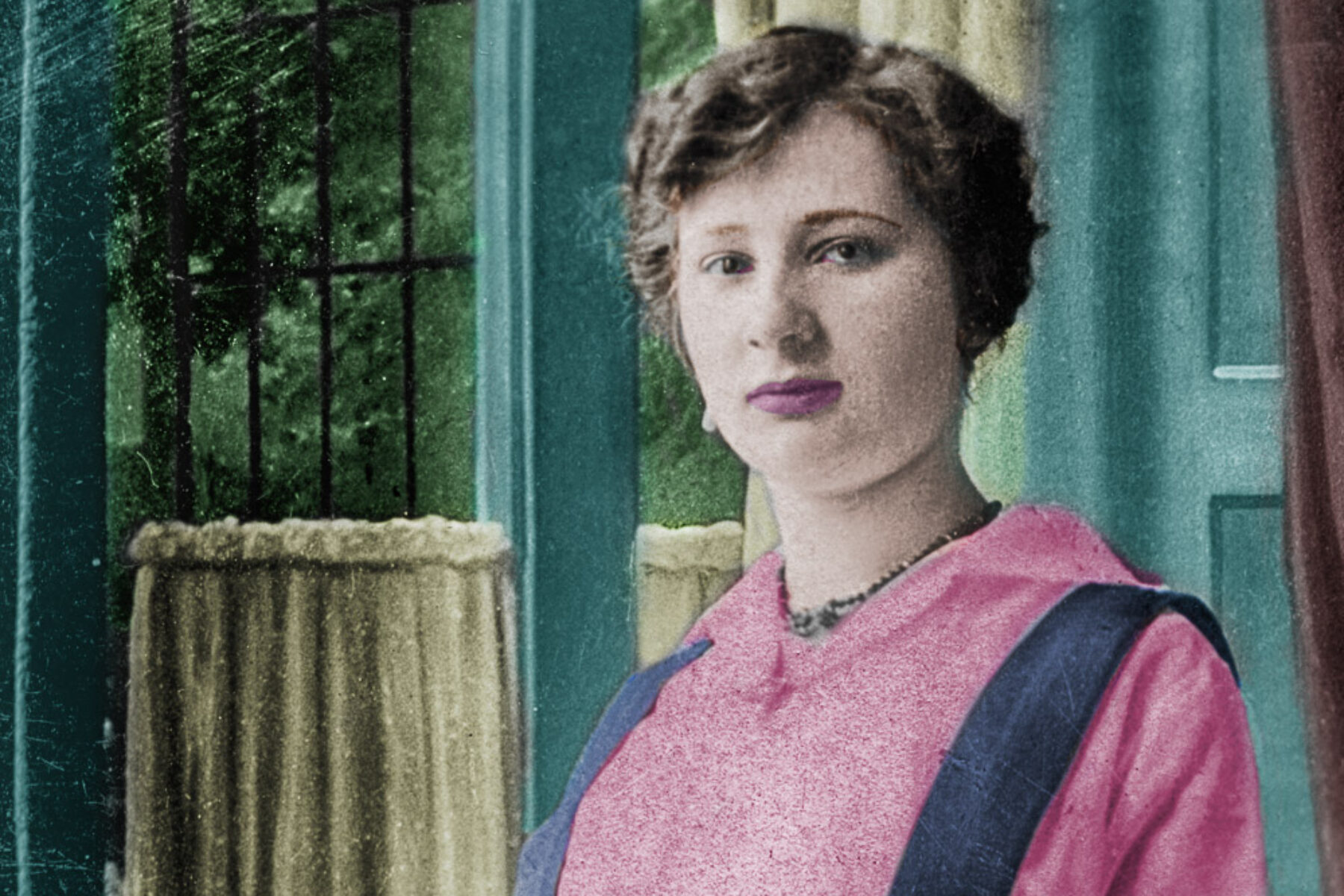 Colorisation d'une photo de 1915