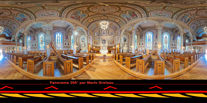 L'église de Champlain